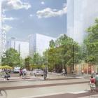 Market Street toward new neighborhood | Image: DRWC