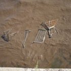 Shopping carts, future fish habitat