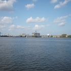 Big sky, big water