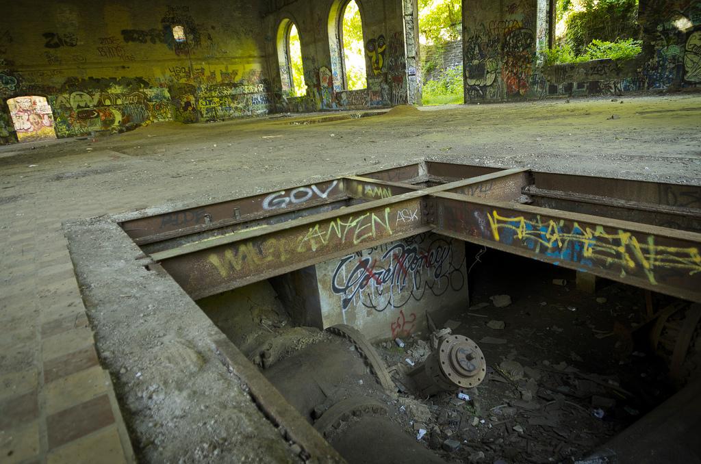 Shawmont Pumping Station Razed