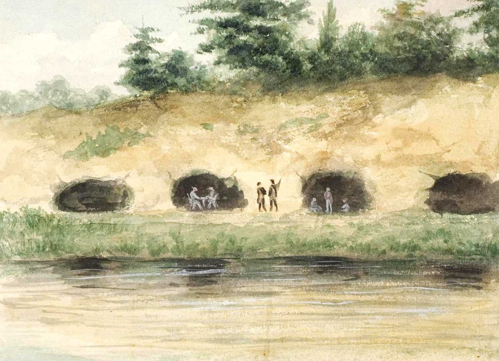 We Burrow Through Time To An Original Delaware River Cave