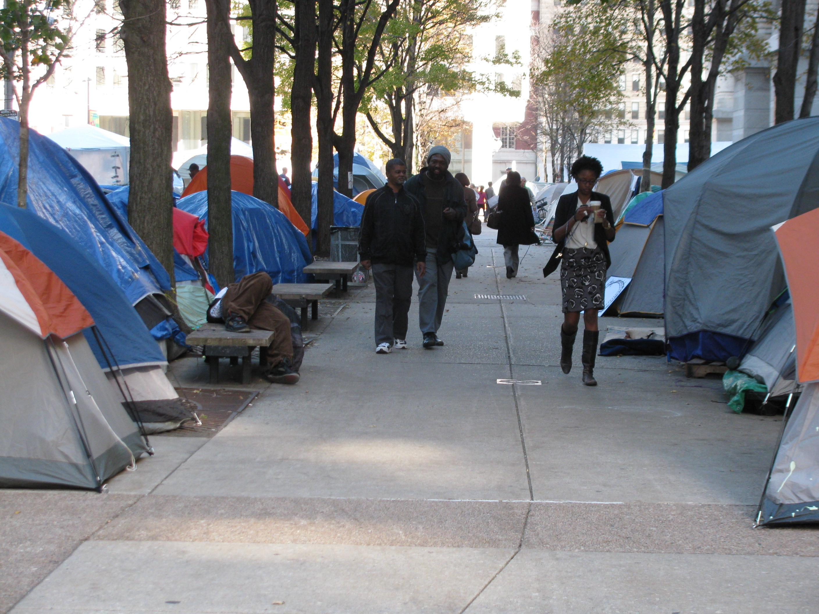 Occupy Philly's Spontaneous Urbanism
