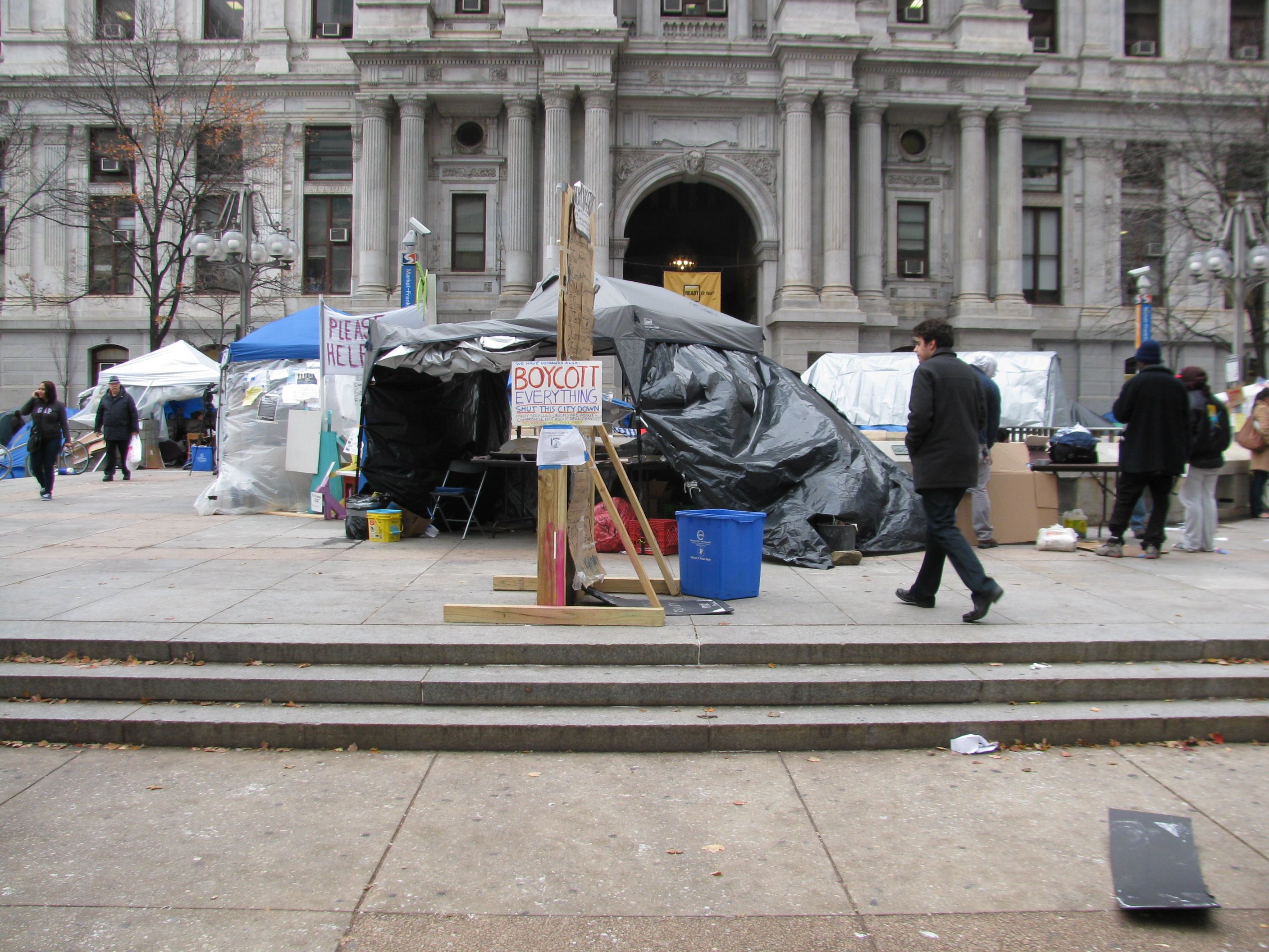 Occupy Philly As Spontaneous Urbanism, Part III