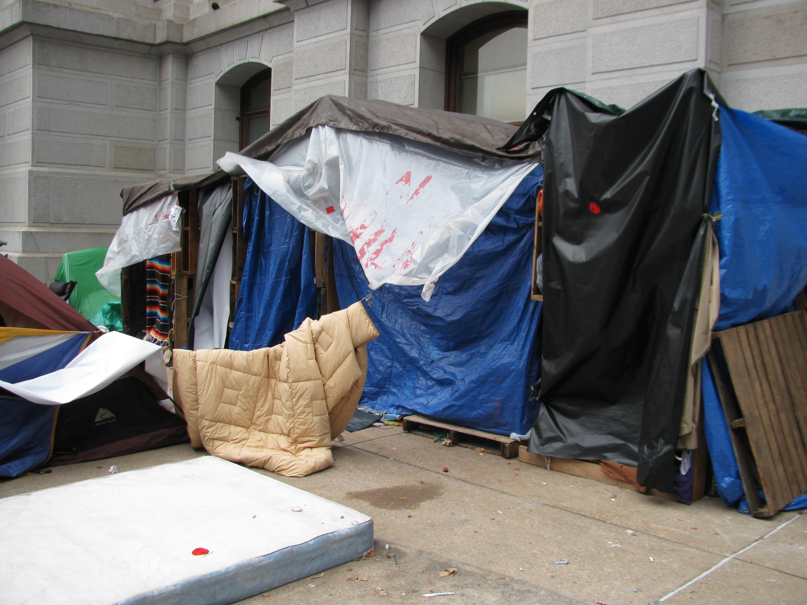 The Homeless Tent. & Occupy Philly As Spontaneous Urbanism Part III | Hidden City ...
