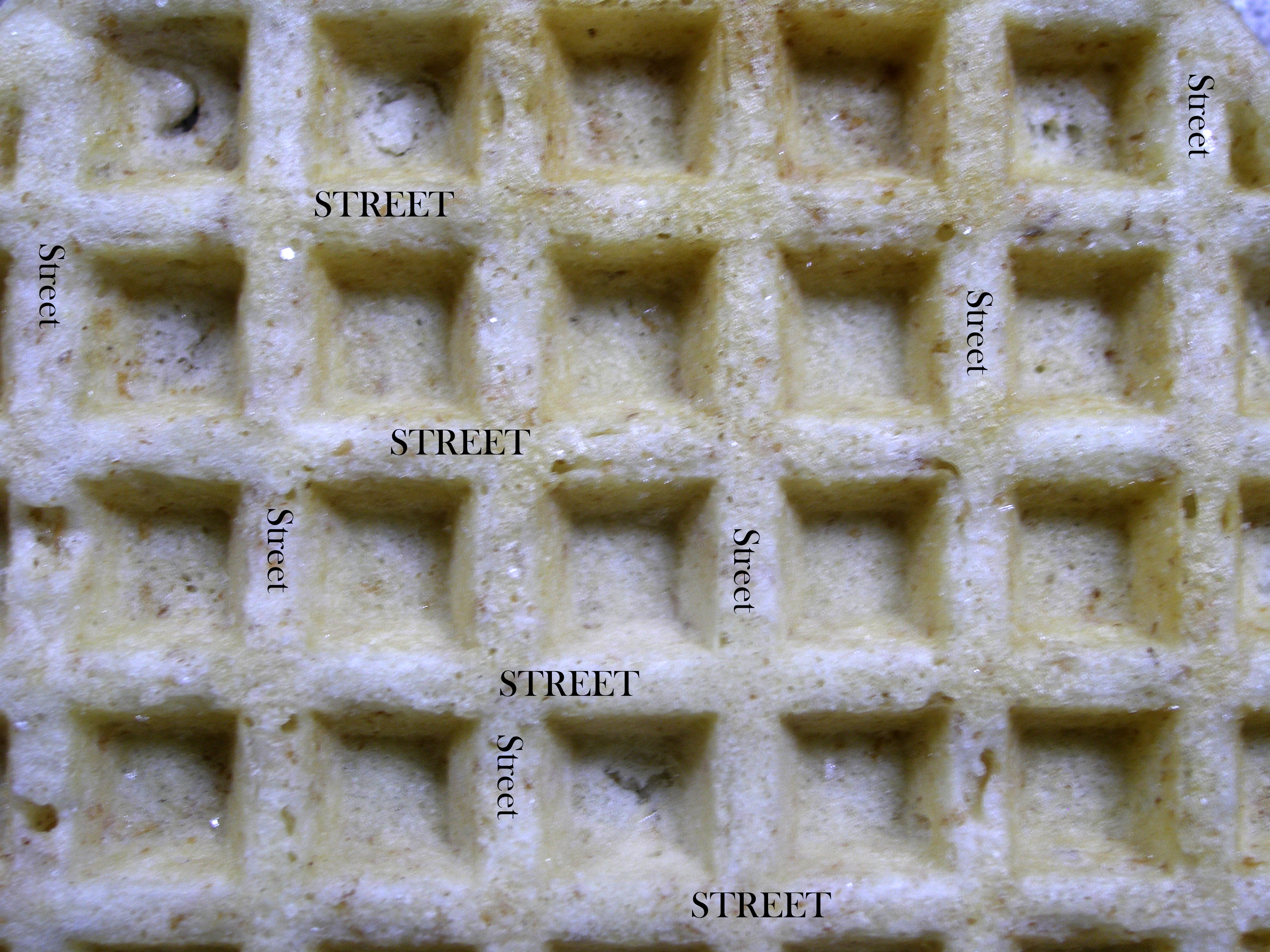 Philly As Waffle, Or How The City Was Built