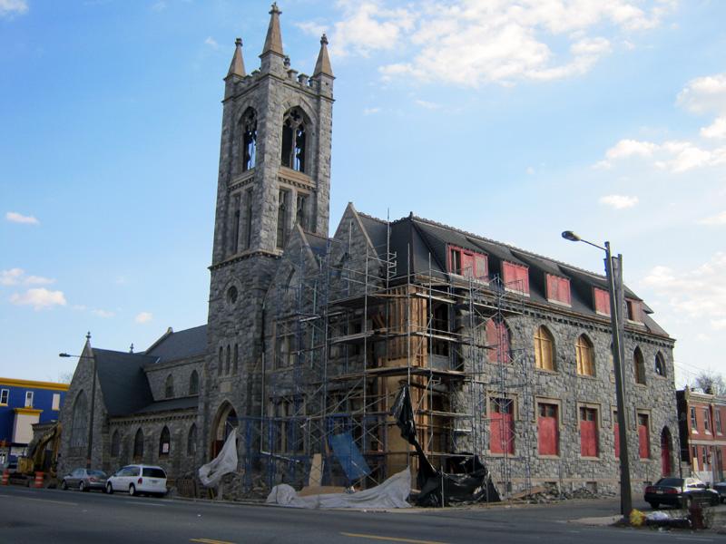 North Philly Church Rehab Underway
