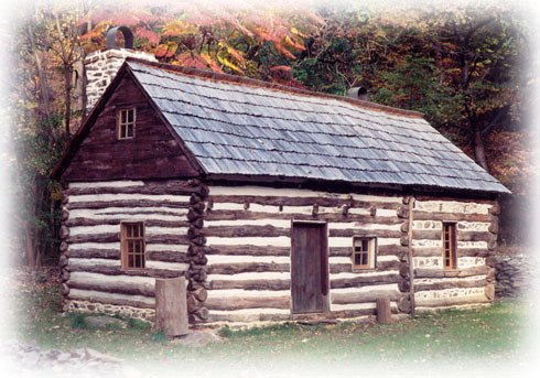 On the day to honor abe and george we present you log for Colonial log homes