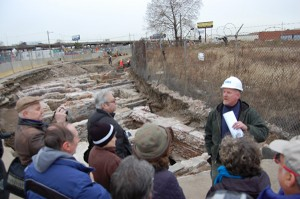 URS senior archaeologist Doug Mooney describes work at Dyottville