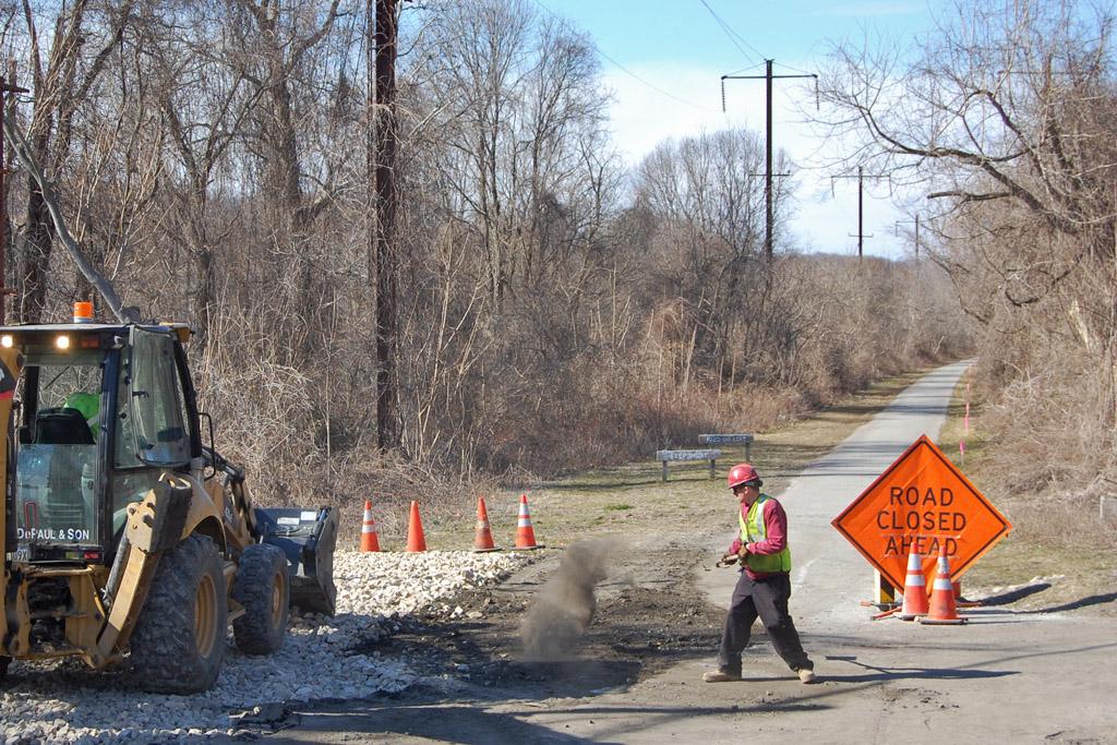 Schuylkill River Trail Construction Underway
