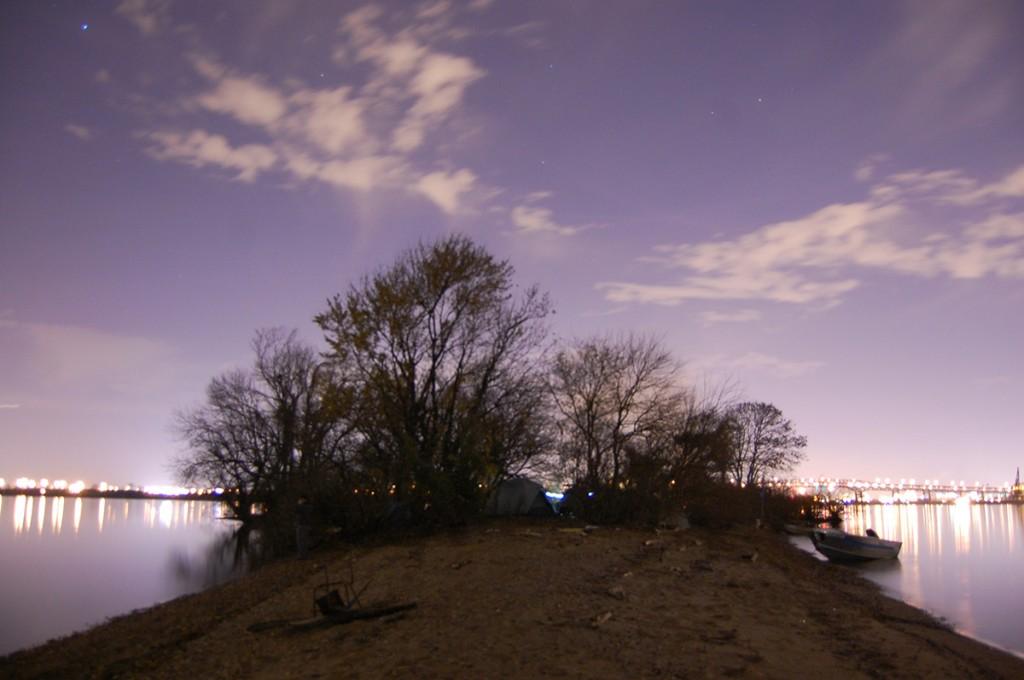 Island looking north | Photo: Mike Szilagyi