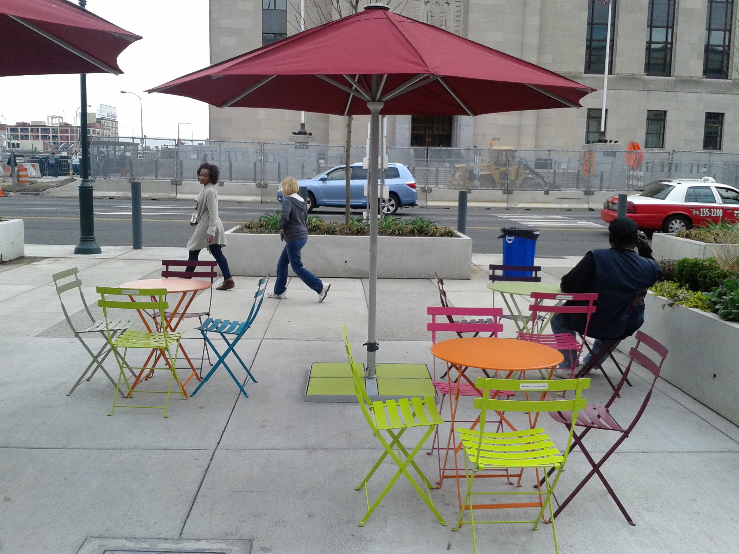 "Bistro Folding Chairs, 30th Street ""Porch"""