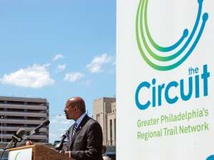 Mayor Nutter introduces The Circuit May 31 2012