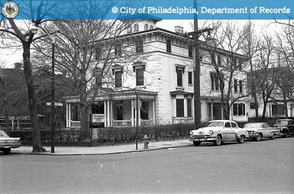 400 S. 40th Street in 1963 | Photo: PhillyHistory.org, a project of the Philadelphia Department of Records