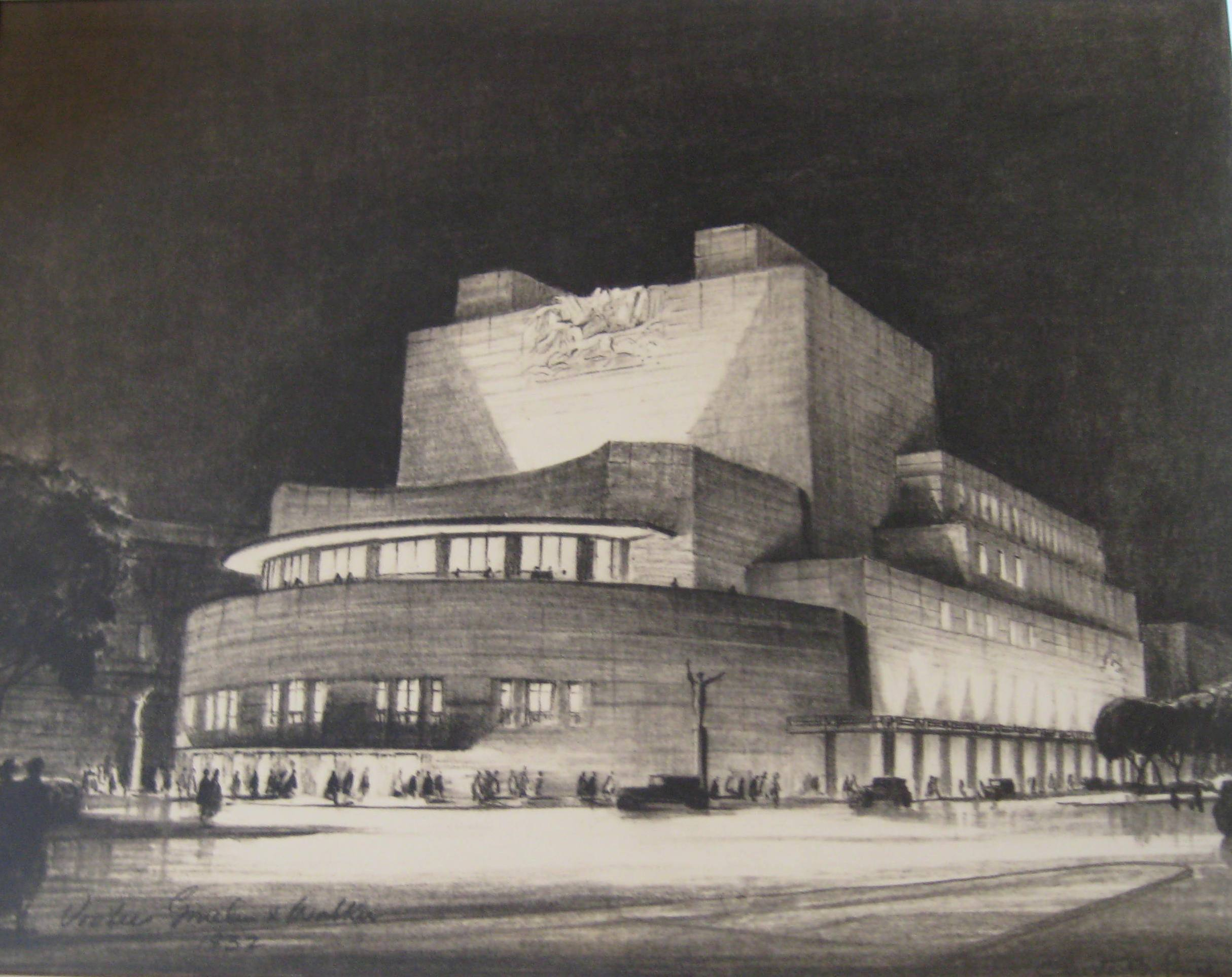 Barnes Prequel On The Parkway: The Unbuilt Temple Of Music