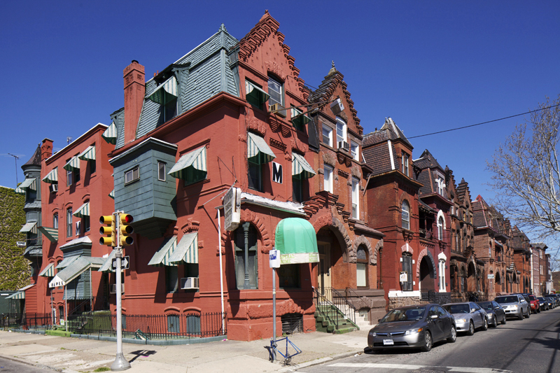 Divine Lorraine Architect's Forgotten North Philly Rowhouses At A Crossroads