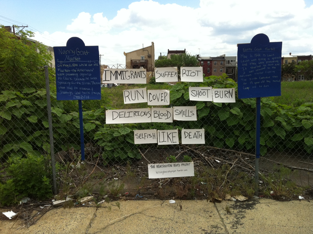 Kensington Riots Project Exhibits This Weekend