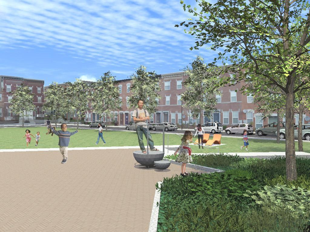 Hawthorne Community Park Opens