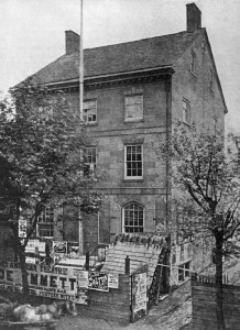 The former Commissioners' Hall of Northern Liberties, 1868