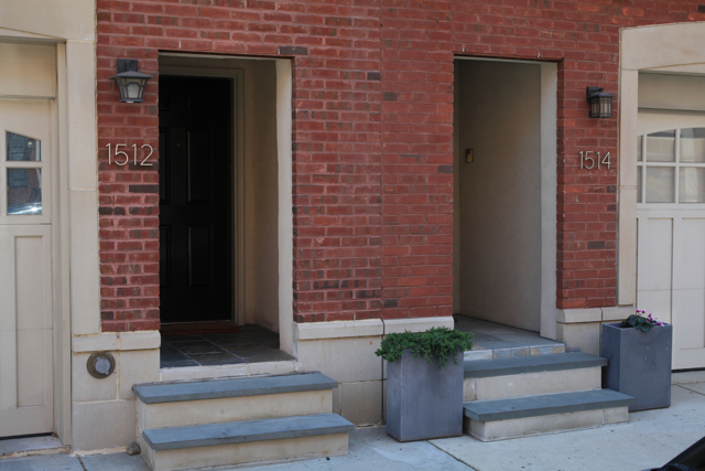 front door stepsField Guide To New Row House Construction Part Two  Hidden City