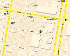 google map southwest block Broad & South