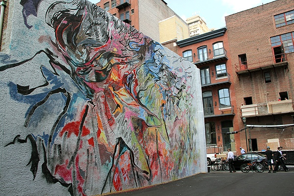 Sansom Street S Temporary Murals Allow For More Artistic