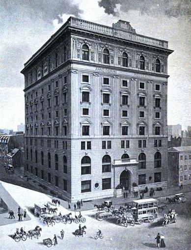 The Late Great Odd Fellows Temple