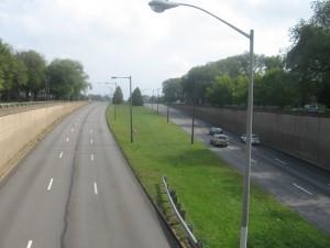 Roosevelt Boulevard at Oxford Circle