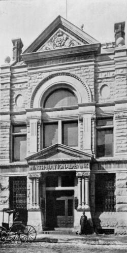 Ninth National Bank | Photo courtesy of the Athenaeum of Philadelphia