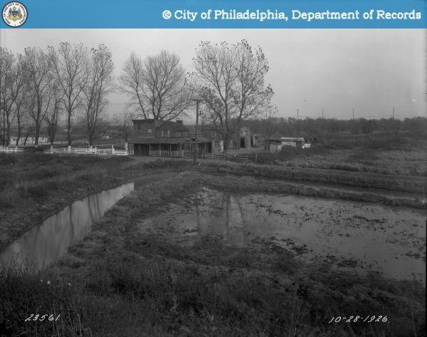 1926 photo of what is now 10th and Pattison, site of Citizen's Bank Park