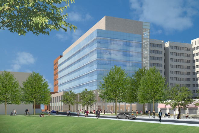 New Temple Sciences building | Image: Architectural Resources