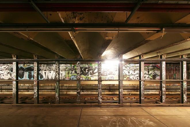 Abandoned Spring Garden Street Station