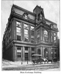 The Commercial Exchange Building, later the Keystone Telephone Building, home of the Keystone Telephone Company from 1901 to 1944.