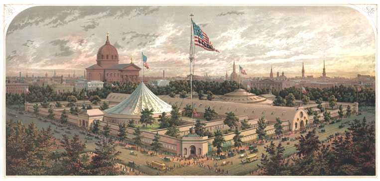Logan Square, Lincoln & The Great Sanitary Fair of 1864