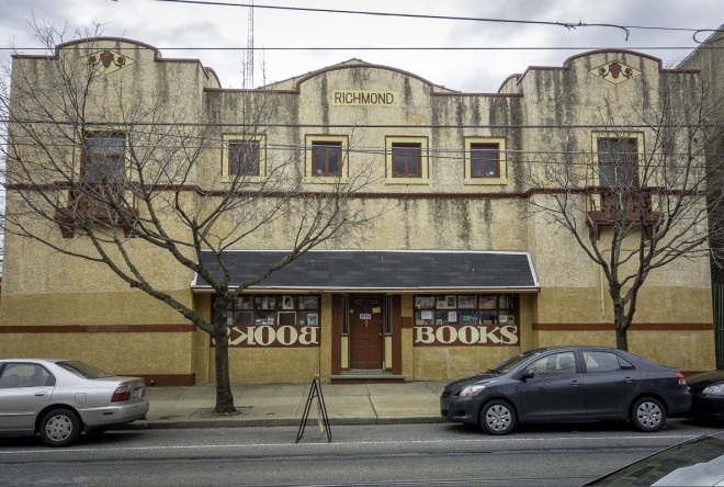 Port Richmond Books, located in the former  Richmond Theatre | Photo: Theresa Stigale