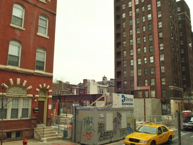 John C. Anderson Apartments under construction | Photo: Nathaniel Popkin