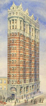 Proposed Tradesman's Trust Addition | Source: Athenaeum of Philadelphia