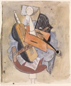 Picasso, Musical Instruments on a Table, 1915 | Image: Courtesy