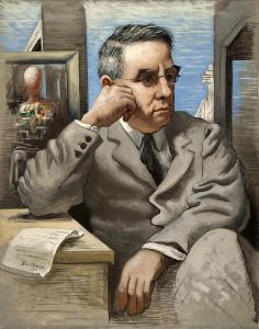 de Chirico, Dr. Albert C. Barnes, 1926 | Image: Courtesy Barnes Foundation, copyright 2013