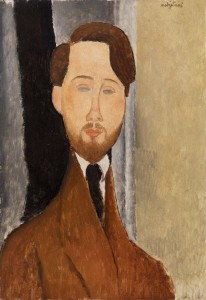 Modigliani, Léopold Zborowksi, 1919 | Image: courtesy Barnes Foundation, copyright 2013