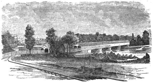 1838: The Philadelphia, Wilmington & Baltimore Railroad built the Newkirk Viaduct, the first permanent bridge at Gray's Ferry.
