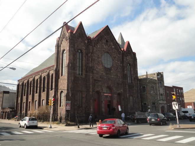 St. John the Evangelist Episcopal being scrapped | Photo: Christopher Mote