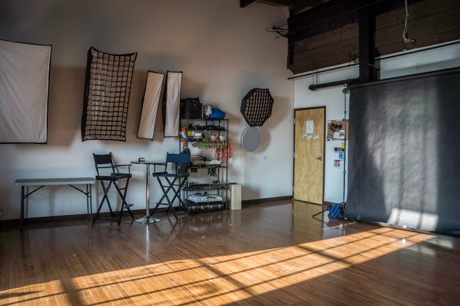 Philly Photo Studio space inside 2424 Studios | Photo: Theresa Stigale