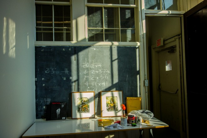 Art Studio in former classroom | Photo: Theresa Stigale