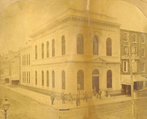 The bank in its original configuration | Source: Athenaeum of Philadelphia