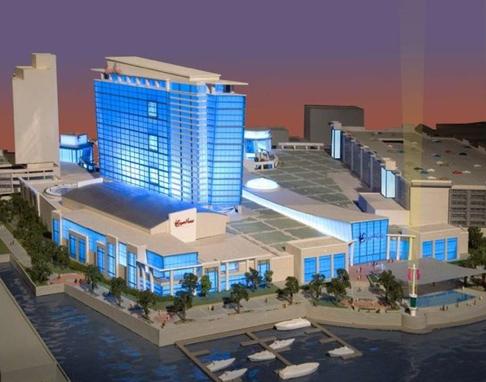 The original 2006 rendering for SugarHouse Casino