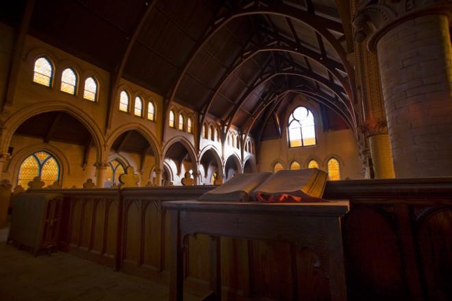 Ghost sanctuary on Kingsessing   Photo: Bradley Maule