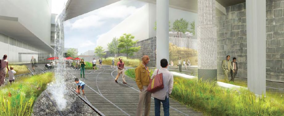 Plan For City Branch Rail Park Emerges
