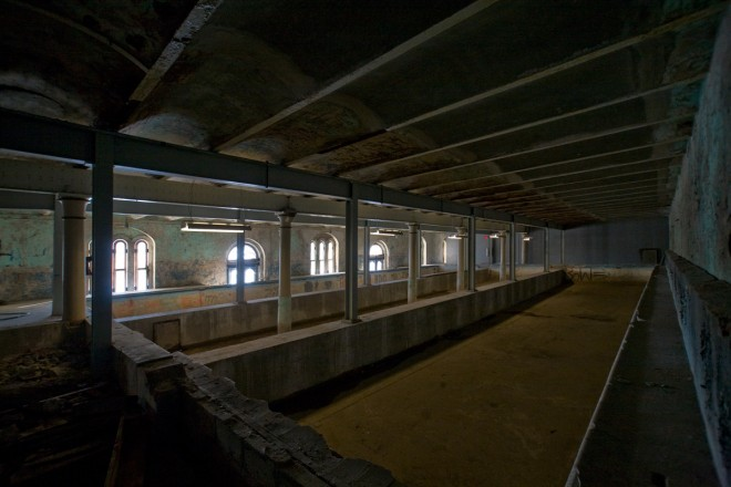 From dilapidated natatorium (pictured here) to Bibotorium (pictured only in person) | Photo: Bradley Maule