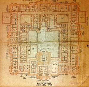 You'll need a map to solve this maze | Image: Public Buildings Commission, 1953