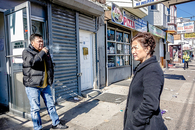 The owners standing outside of Woodland Livestock | Photo: Theresa Stigale